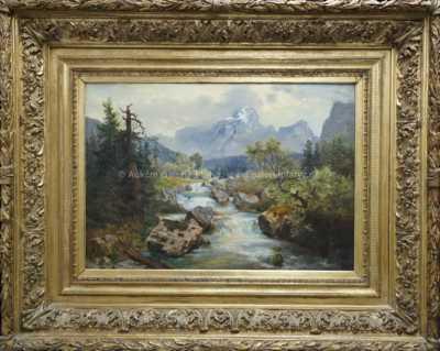 Jiří (Georg) Holub - Strom u řeky