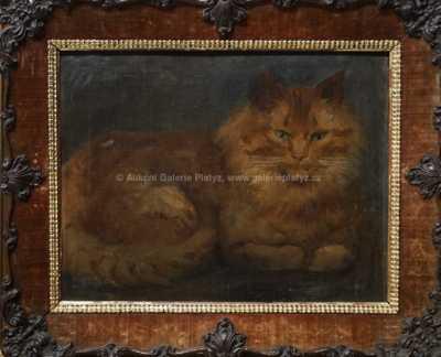 Henriette Ronner-Knip - Kočka
