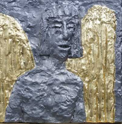 Olbram Zoubek - Zvěstování - Anděl