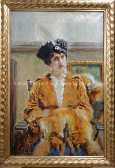Josef Loukota - Dívka v křesle