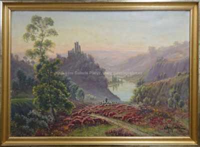Autor neurčen - Pohled do údolí