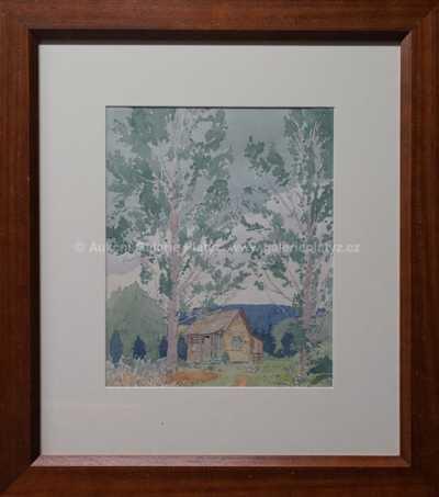 Rudolf Růžička - Autorova chata