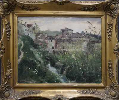 Nesignováno - Potok pod vesnicí