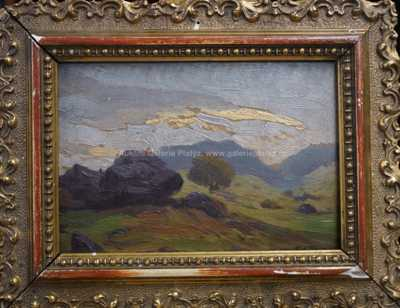 František X. Procházka - Horská krajina