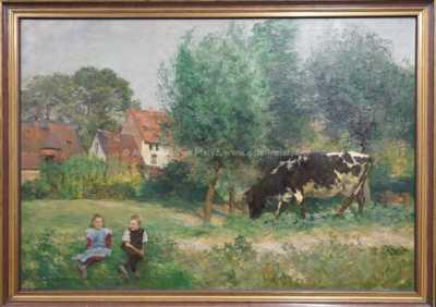 Heinrich Wettig - Na pastvě