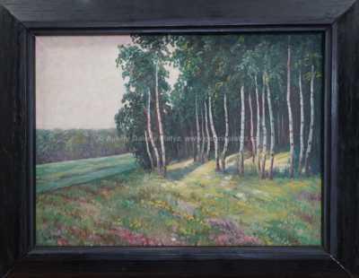 Augustin Satra - Na okraji lesa