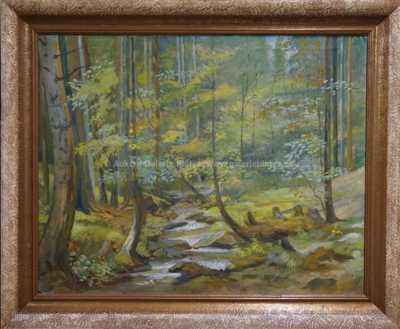 Jan Trefný - Lesní potok