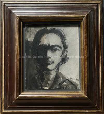 Karel Souček (Bor) - Portrét