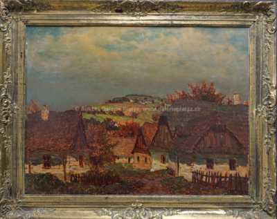 Jan Honsa - Roubená vesnice