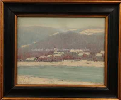 Karel Schadt - Zima v horách