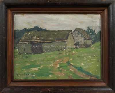 Za stodolou
