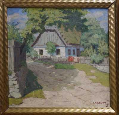 Karel Schadt - Letní chaloupka
