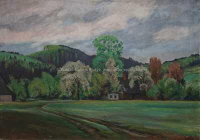 Rudolf Vejrych - Chaloupka u lesa