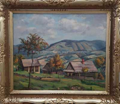 Augustin Mervart - Pohled do údolí