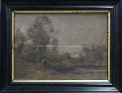Martin Lewis - Na rybníce