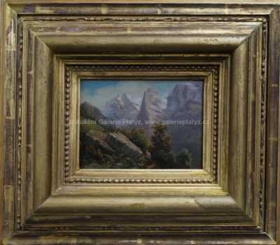 Maxmilian Joseph Haushofer - Pohoří u Kufsteinu v Rakousku