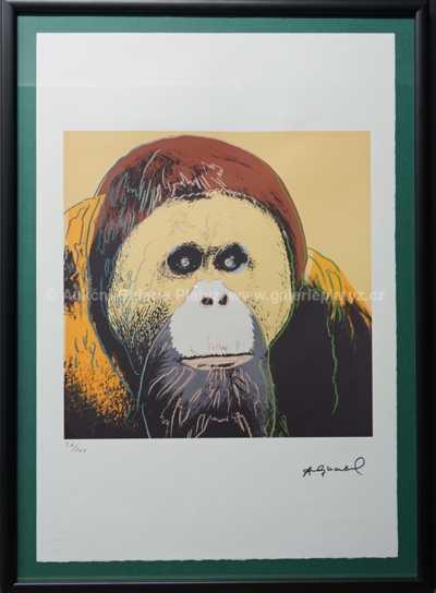 Andy Warhol - Orangutan