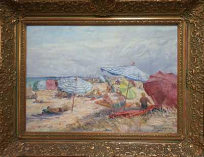 Josef Procházka - Na prosluněné pláži
