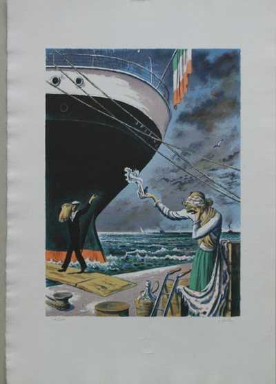 Cyril Bouda - Balada o námořníkovi