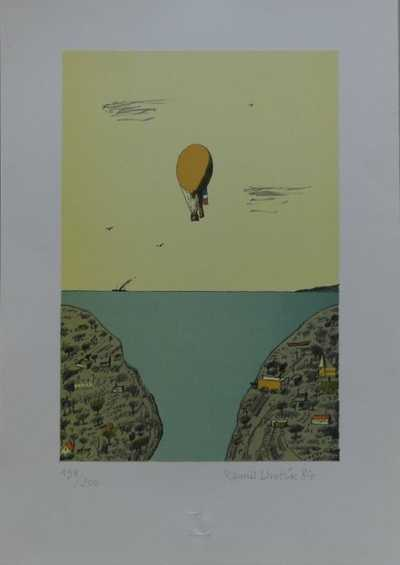 Kamil Lhoták - Let balonu