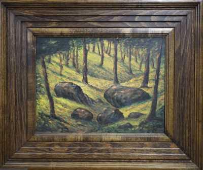 František Drtikol - Kameny v lese