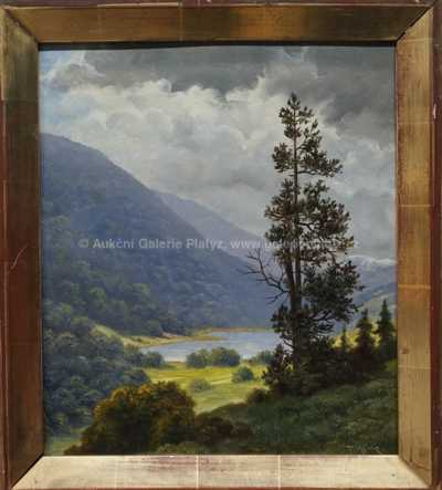 Thomas Theodor Heine - Horské jezero