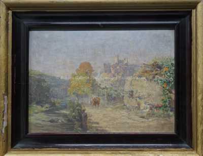 Otto Elsner - Pod hradem