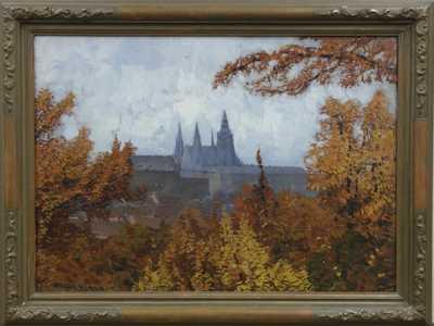 Otakar Hůrka - Pražský hrad na podzim
