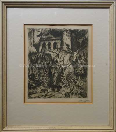 Jan Konůpek - Pod hradem