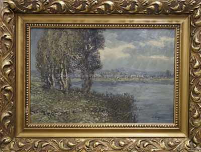 Antonín  Augusta - Břízy u vody