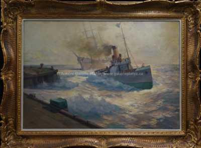 Na rozbouřeném moři