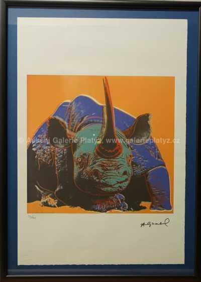 Andy Warhol - Černý nosorožec