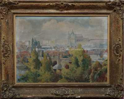 Josef  Svoboda - Pražské panorama