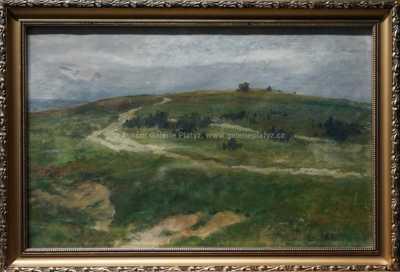 Otakar Lebeda - Cesta pod kopcem
