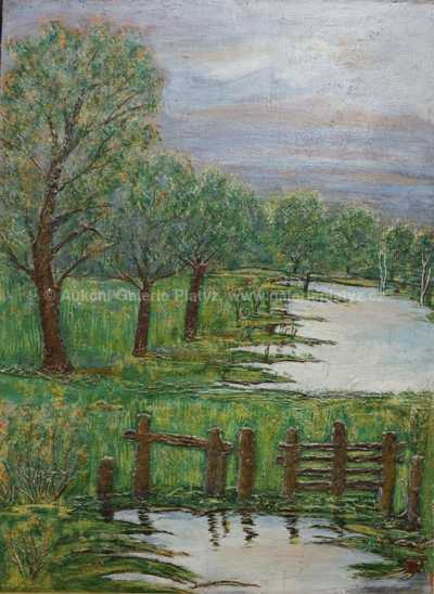 Bohumil Němec - Na břehu rybníka