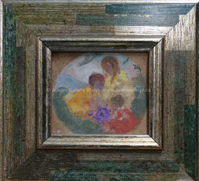 Jan Preisler - Studie fresky