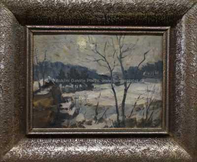 Antonín Hudeček - Zimní odpoledne