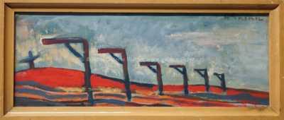 Josef Hlinomaz - Krajina v červené