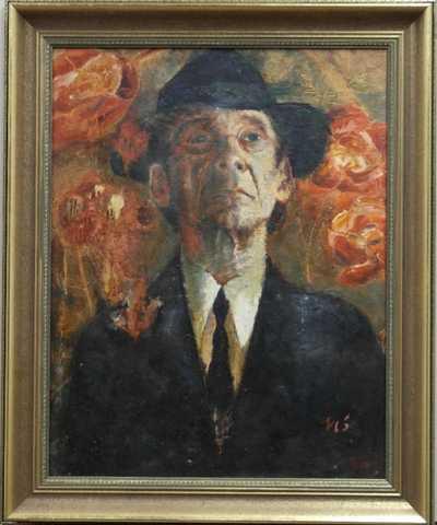 Václav Bedřich - Portrét Josefa Kemra