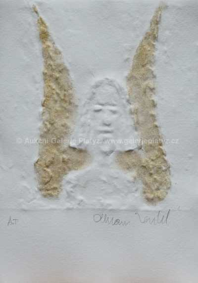 Olbram Zoubek - O. anděl - hlava