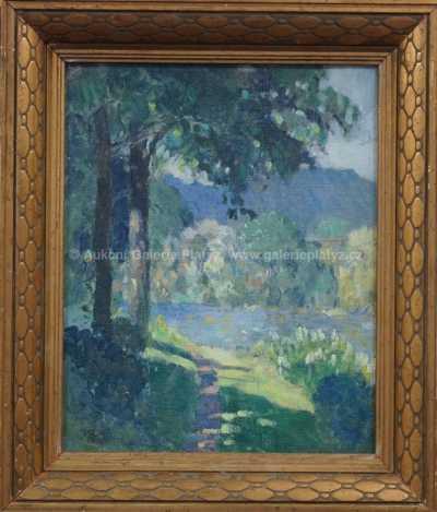 Karel Vik - Cesta u řeky