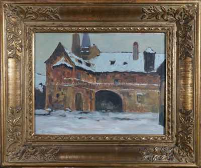 Gustav Macoun - Zákoutí Starého města