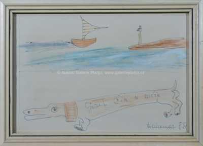 Josef Hlinomaz - U moře