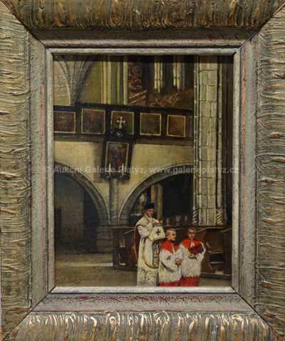 Robert Schlosser - V chrámu