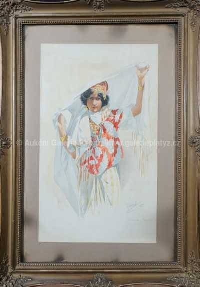 Karel Šimůnek - Tanečnice z Tripolisu