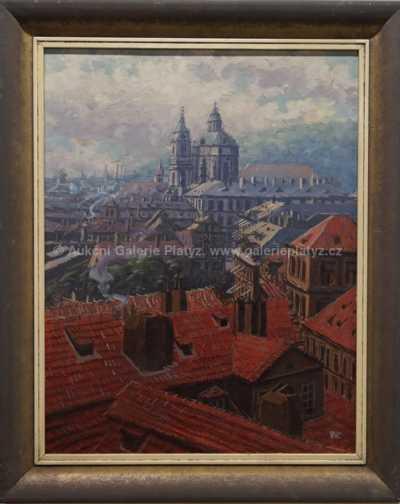 Josef Vaic - Pražské střechy
