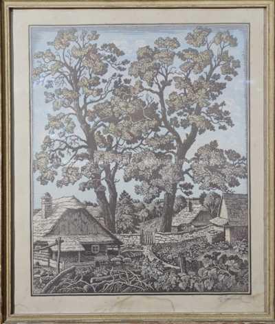 Bohumír Jaroněk - Staré chalupy