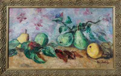 Bohumír Dvorský - Ovocné zátiší