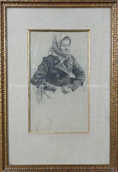 Jakub Schikaneder - Malířova maminka