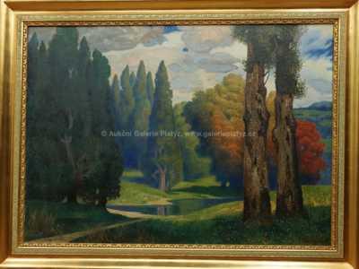 Autor neurčen - Vysoké stromy